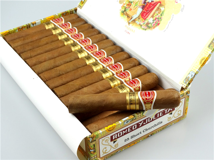 25支 Romeo y Julieta Short Churchills 短丘