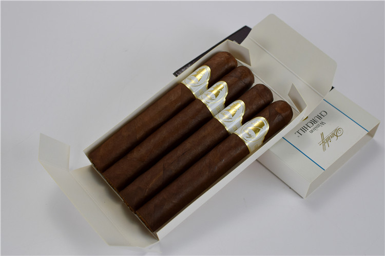 4支纸盒Davidoff Winston CHURCHILL Toro Cigars温斯顿公牛